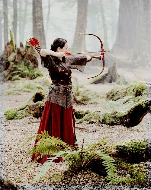 The warrior queen...She was the one who made me want to be an archer long before Katniss or Merida.