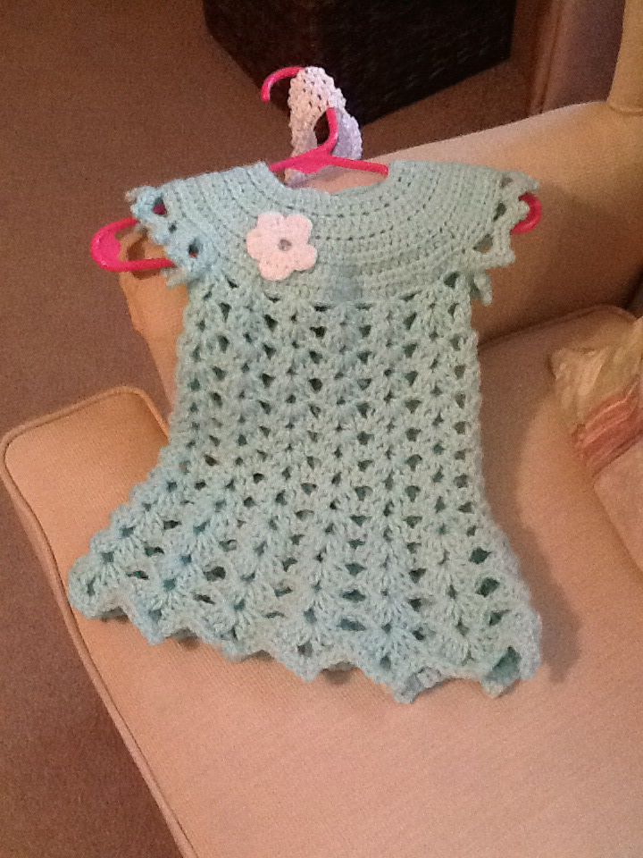 I made this for my new granddaughter. She's due 9/2014