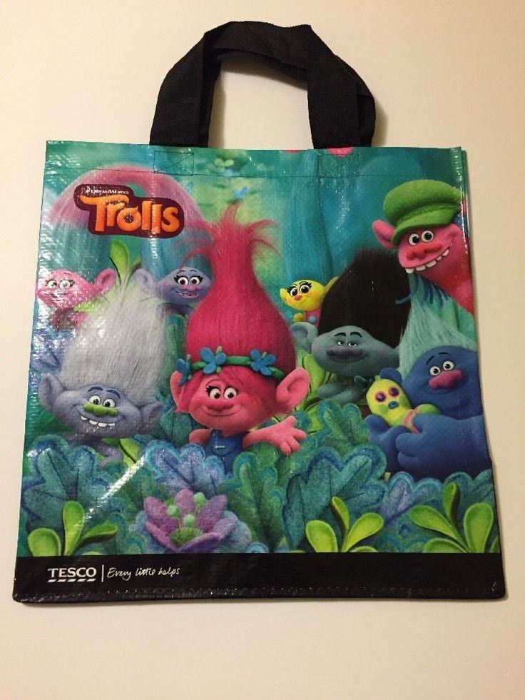 Tesco Trolls Tote Bag Poppy Branch DreamWorks TImberlake Shopper Suki Bridget #Tesco