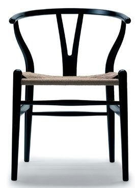 My favorit chair Y-chair by Hans J Wagner a Danish designer.