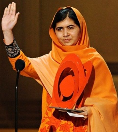 Malala Yousafzai awarded with Glamour Woman of the Year 2013