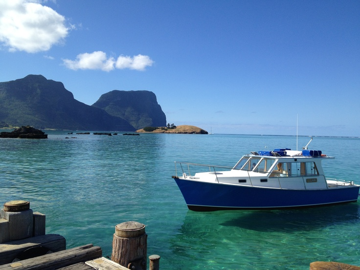 Getting ready to go abord the 'Lulawai' at Lord Howe