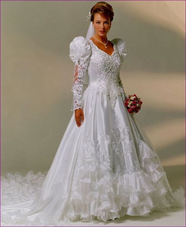 Vintage Wedding Dress 90s: 384 Best 1980's Wedding Dress Images On Pinterest