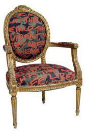 swallowtail graffiti chair