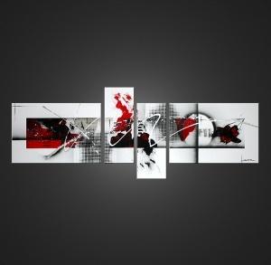 Tableau art abstrait Aeroni
