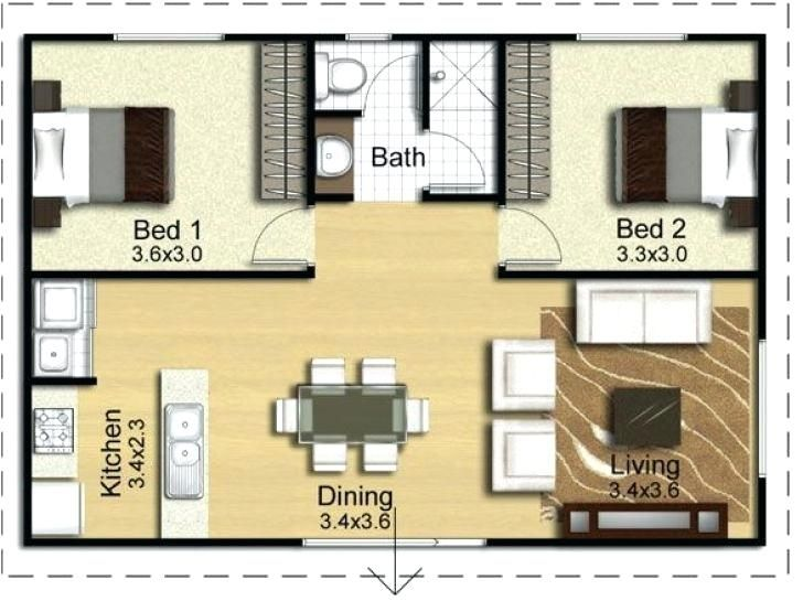 Converting Garage Into Living Space Floor Plans To Inspirational Converting Garage Into Small Apartment Floor Plans Apartment Floor Plans Apartment Floor Plan