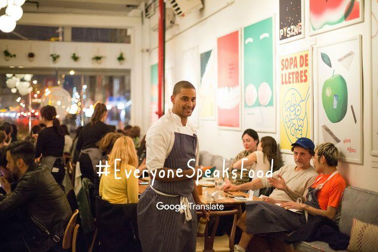 #EveryoneSpeaksFood: a Google Translate Pop-Up Restaurant