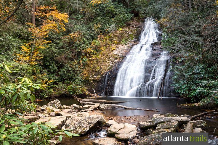 Helton Creek Falls: double waterfall hike near Helen, GA