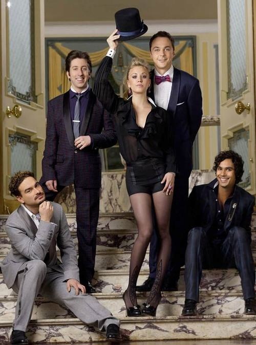 The Big Bang Theory:  It's nothing like any regular comedy series..