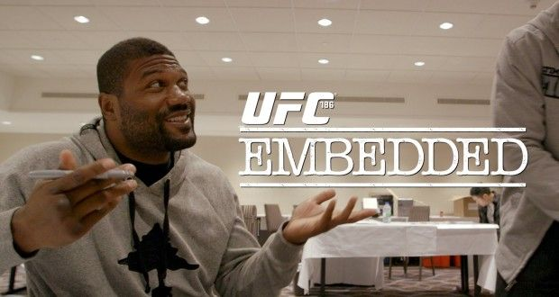 Video – UFC 186 Embedded: Vlog Series – Episode 1 | TalkingBrawlsMMA.com