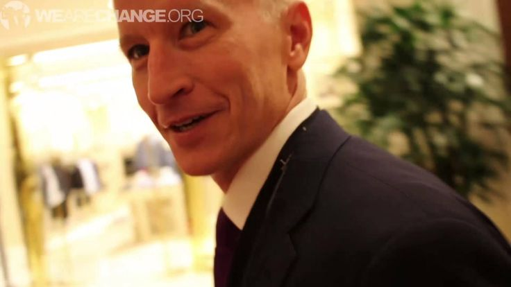 Anderson Cooper Confronted On Being In The CIA