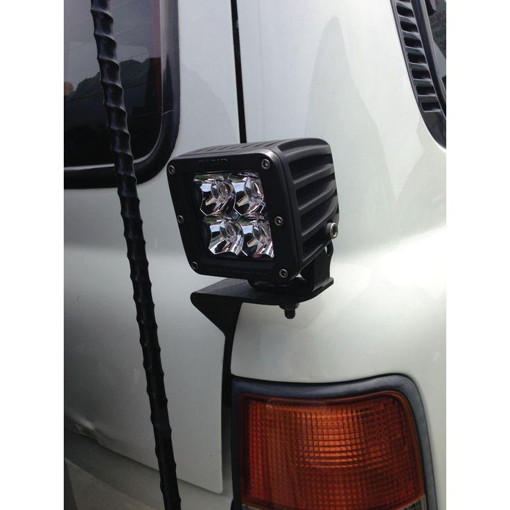 Rear Antenna / Light Mount PASSENGER SIDE - FJ80 Toyota Land Cruiser Lexus LX450