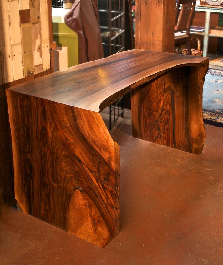 30 best exotic wood slabs in stock images on pinterest for Portland reclaimed wood furniture