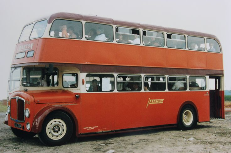 Barton Transport - New deckers of the 50s & 60s. Fleet number 784, a Northern Counties bodied AEC Regent V delivered in 1957. (The vehicle was nearly 50 years old by the time this photograph was taken)