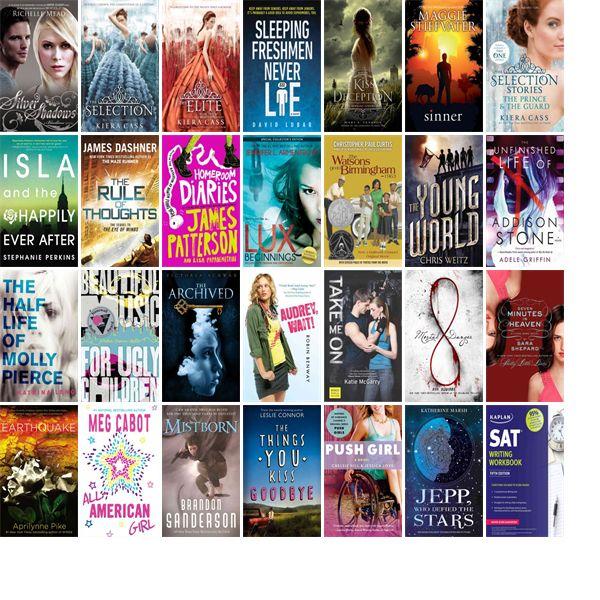 teen best seller books