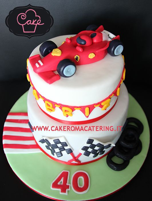 39 Best Formula 1 Cake Images On Pinterest Birthdays