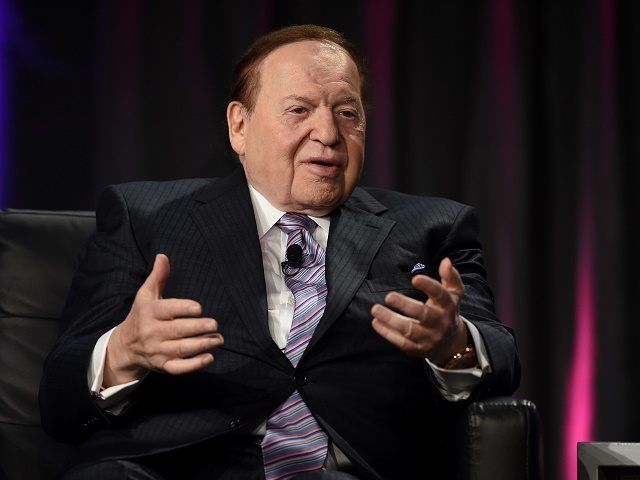 Adelson: Trump Likely to Become 'The Best President for Israel Ever'