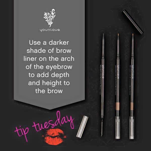 #tiptuesday Moonstruck Precision Brow Liners  Available September 1 www.youniqueproducts.com/CatalinaAlanis