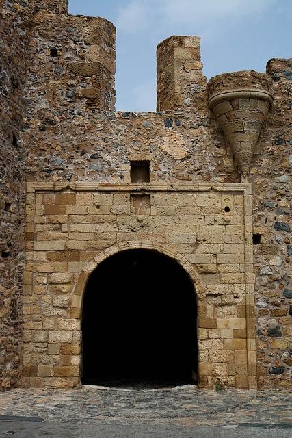 monemvasia, Greece - gate by Macaroons, via Flickr