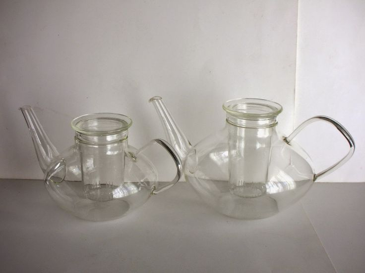 SKYSCRAPER CAPE TOWN - 20th CENTURY CLASSICS: Modernist Glass Teapots by Schott Mainz Jena Germa...