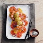 Garnelen-Kartoffel-Spieße mit Vanillesalz