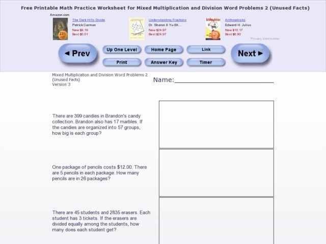 38 Multiplication And Division Word Problems Worksheets 4th Grade Division Word Problems Word Problems Word Problem Worksheets