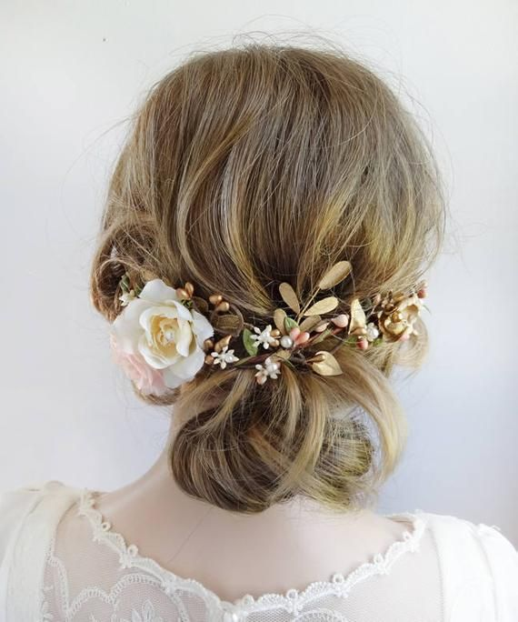 A Luxe Embellished Hair Vine To Nestle Above Your Updo Or Half Up