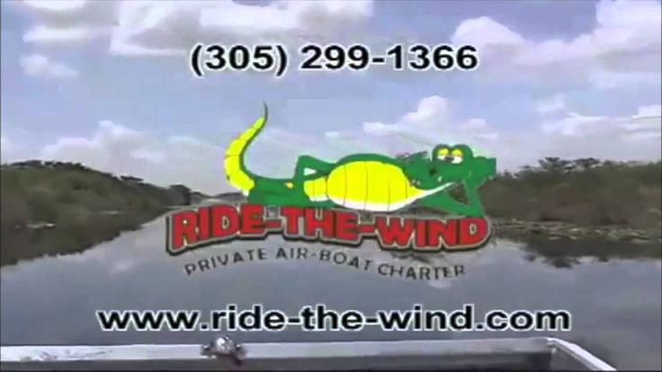 Ft Lauderdale Air boat Everglades Tour - Ride The Wind