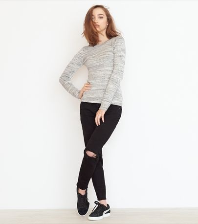 Spacedye Ribbed Sweater
