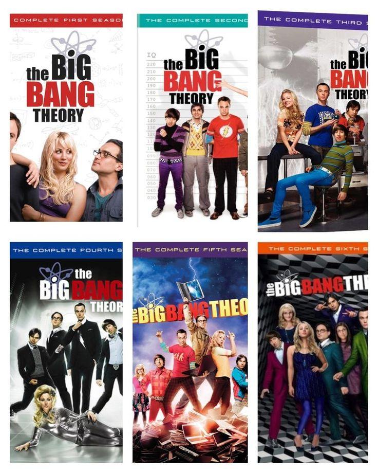 The Big Bang Theory Seasons 1-6 DVD Brand New Seasons 1 2 3 4 5 6 Laura has requested season 4