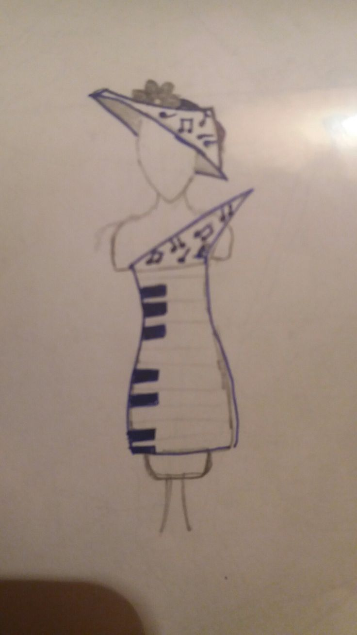 Piano dress or music lesson