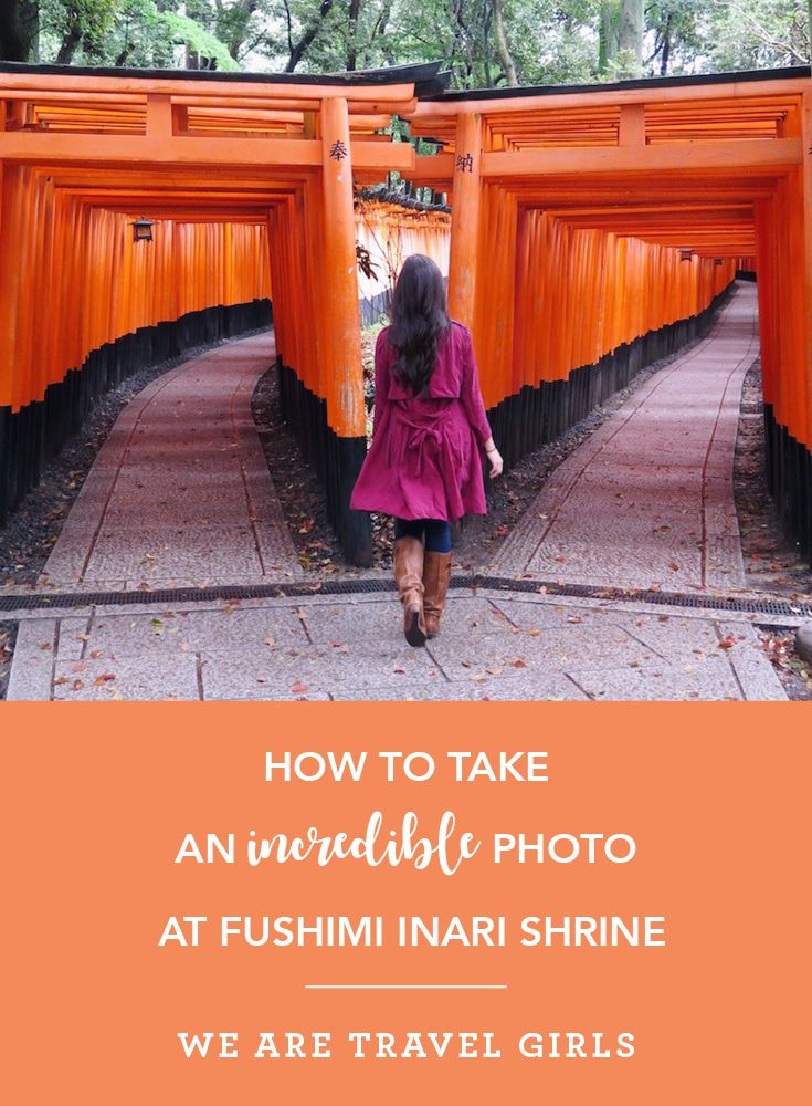 HOW TO TAKE AN INCREDIBLE PHOTO AT FUSHIMI INARI SHRINE. A popular tourist spot in Kyoto, Fushimi Inari Shrine is one of the most peaceful areas you'll find in Japan. Composed with thousands of shrines, this popular location attracts visitors and photographers for it's illusional, maze-like effect the shrines create when walking through it's path.  Save your sanity and photography by making the effort to try these four tips to achieve an excellent photo. By Pamela Sendee for…