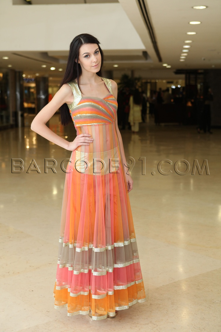 the colors......Parul Grover's  Spring Summer Collection