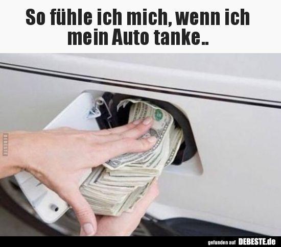 So fühle ich mich, wenn ich mein Auto tanke.. | L… – #Auto #fühle #Ich #mein…