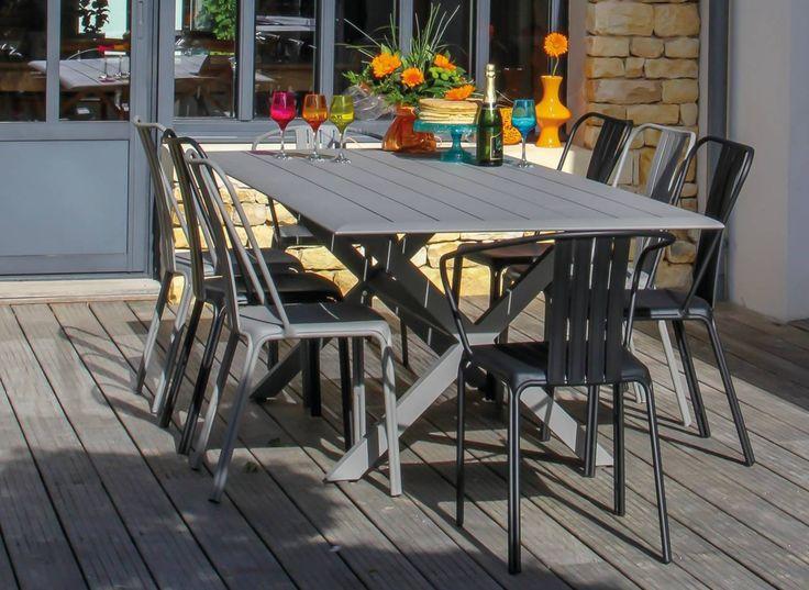Fauteuil de jardin en aluminium Azuro - Proloisirs