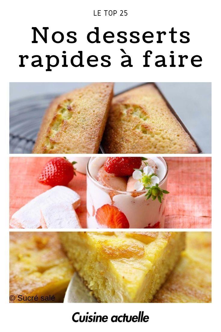 Top 25 Des Desserts Rapides A Faire Idee Dessert Facile Desserts Rapides Recette Dessert Rapide