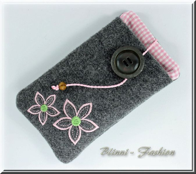 beautyful Cellphone Case / pouch from Blinni-Fashion by DaWanda.com