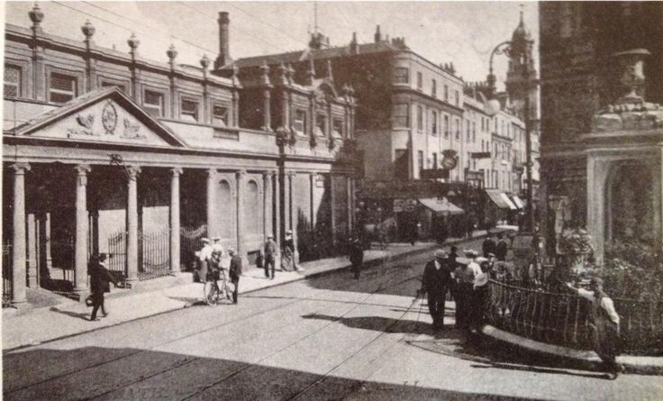 Stall St in Bath circa 1910