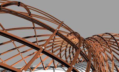 Double Layer Gridshell. http://www.grasshopper3d.com/forum/topics/double-layer-gridshell