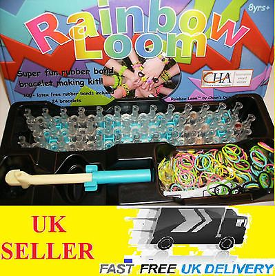 New #rainbow loom kit rubber band #bracelet 600+ #bands mix colour c clips blue b,  View more on the LINK: http://www.zeppy.io/product/gb/2/222155794943/