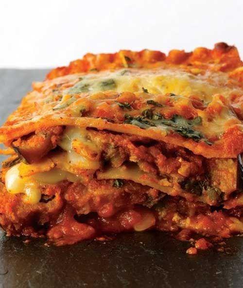 ... for Eggplant Parmesan Lasagna - Eggplant Parmesan Lasagna with
