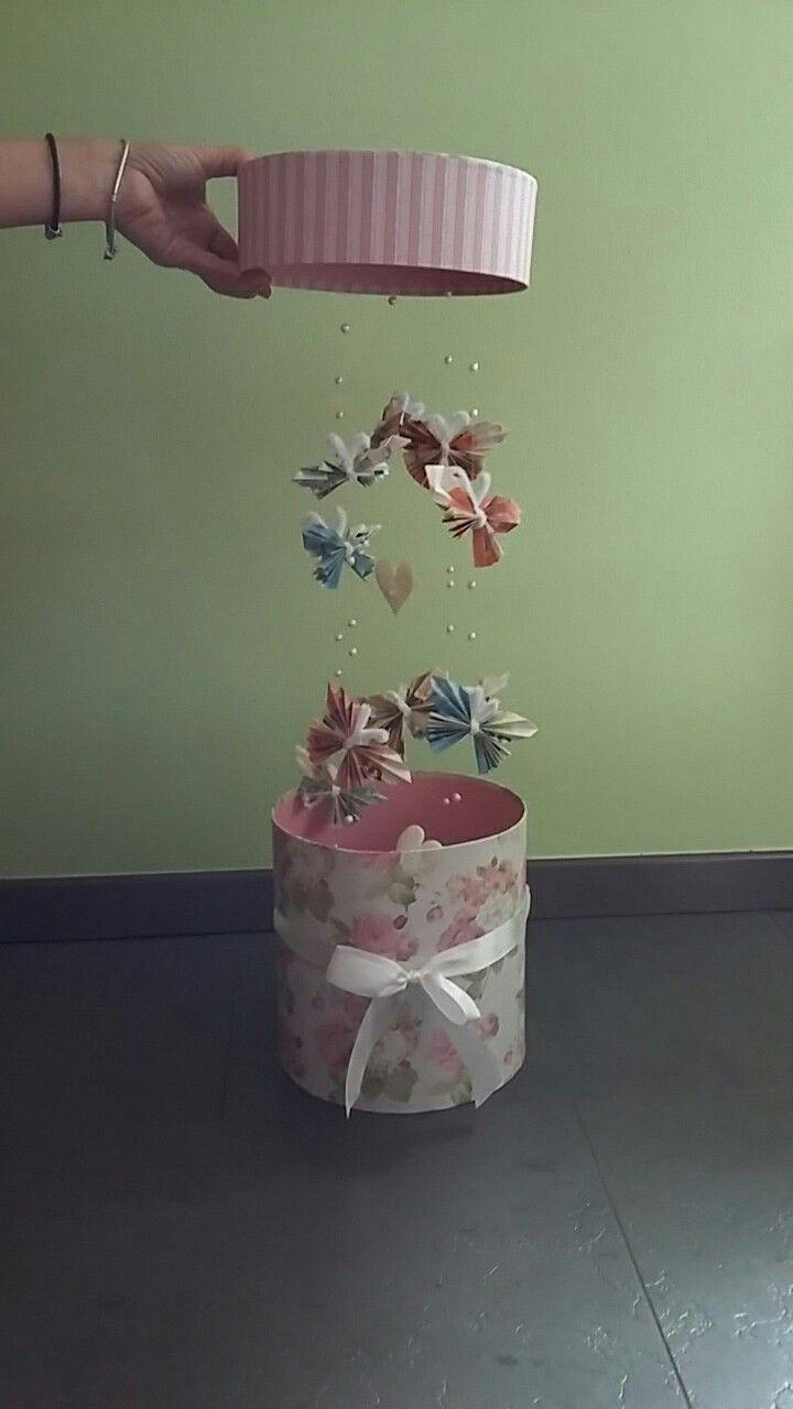 Geld vorhanden mit Schmetterlingen   – Geschenke einpacken – #einpacken #Geld #G…