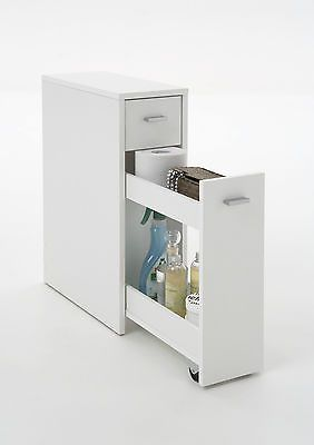 """""""Denia"""" Genius Slimline Bathroom / Kitchen Slide-Out Storage Drawer Unit."""