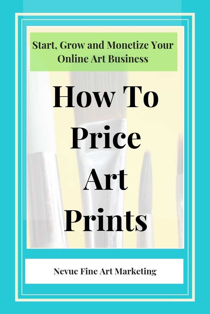 How To Price Art Prints Best Strategies Selling art
