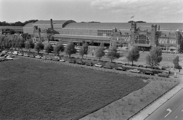 Haarlem 1972 Stationsplein