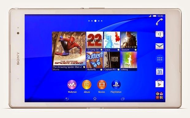 Sony Xperia Z3 Tablet Compact Price & Spec