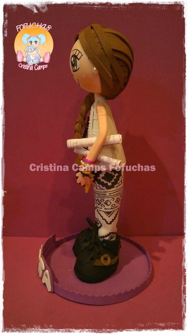 Cristina Camps Fofuchas: Fofucha arquitecta