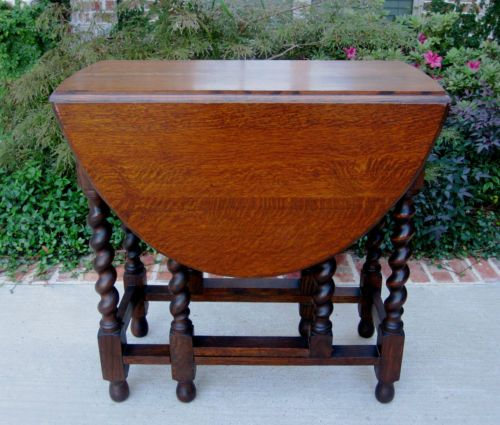 1000 Images About Barley Twistdrop Leaf Table On Pinterest Antiques Drop And English
