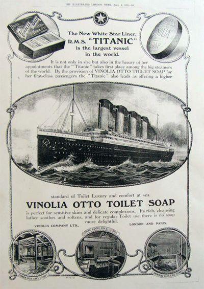 Vinolia Soap Re-Creation (The Soap on the RMS Titanic)