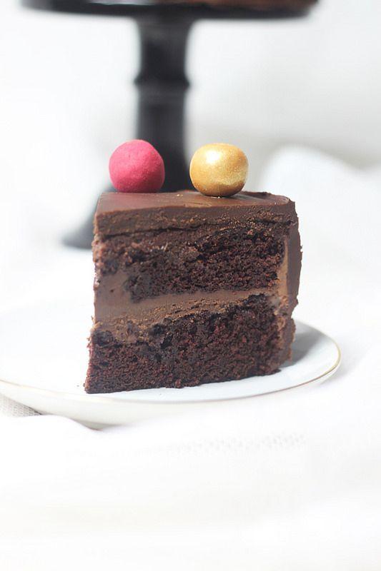 chokladtårta nutellaganache